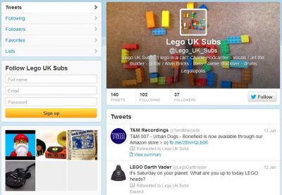 Lego_UK_Subs Twitter page - click to enlarge