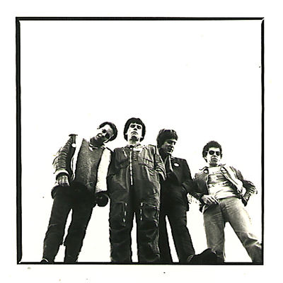 Left  to right. Paul Slack, Nicky Garratt, Robbie Burdock and Charlie Harper.  From  the Nicky Garratt collection. Click to enlarge